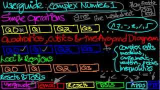 Complex Numbers Practice YouTube video