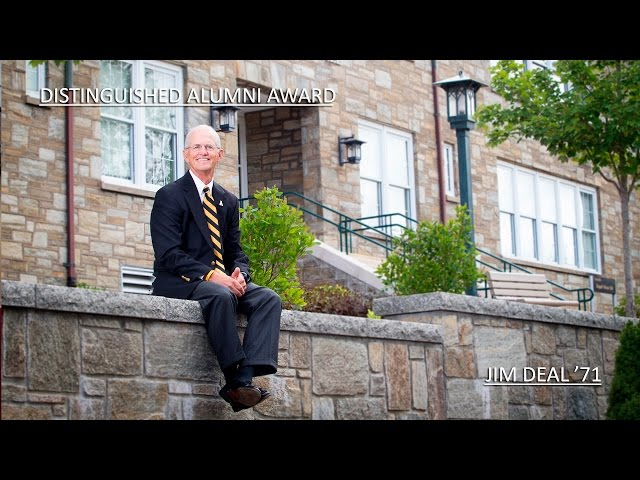 Distinguished Alumni Award 2016: James M. Deal Jr. '71