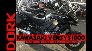 2. Kawasaki Versys 1000 Review: Test Ride and First Impressions + Versys 650 vs Versys 1000