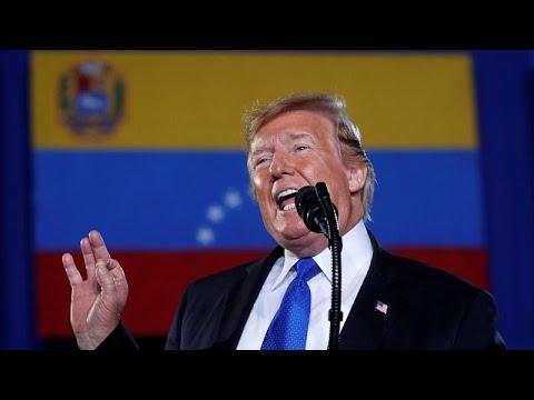 Τελεσίγραφο Τραμπ προς τον στρατό της Βενεζουέλας