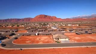 Desert Rose Aerial View