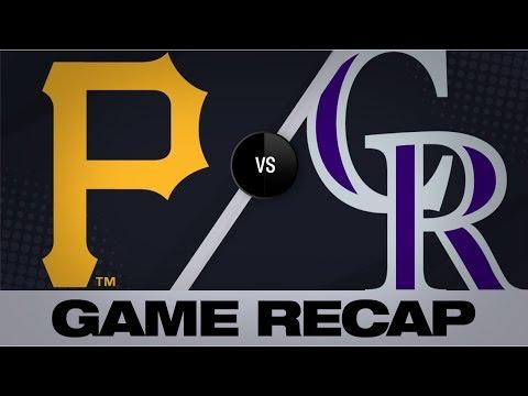 Video: Brault homers, twirls gem in win   Pirates-Rockies Game Highlights 9/1/19