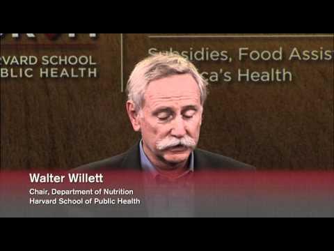 Die Reform des 2012 Farm Bill: Subventionen, Food Assistance und America  's Health     Das Forum am HSPH