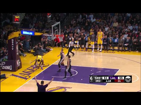 3rd Quarter, One Box Video: Los Angeles Lakers vs. San Antonio Spurs