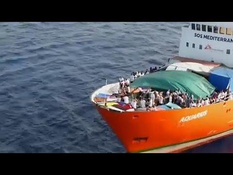 Αλληλεγγύη για τους μετανάστες του Aquarius ζητούν ευρωβουλευτές…