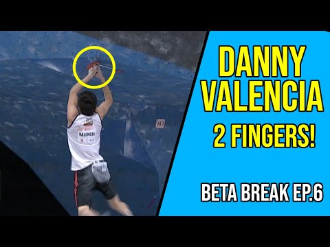 Danny Valencia Holds on with Only 2 Fingers! | Beta Break Ep.6
