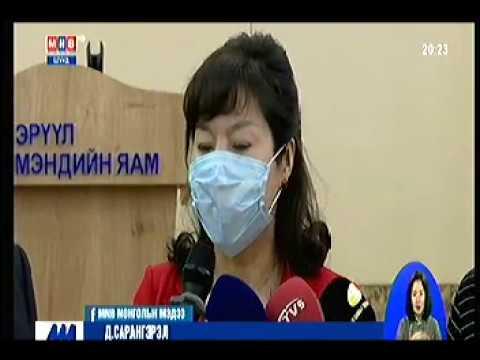 Монголын ахмад эмч нар ЭМЯ-нд арван мянган ширхэг бээлий хандив болгон өглөө