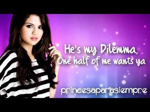 Video Selena Gomez - My Dilemma (lyrics) (FULL SONG) download in MP3, 3GP, MP4, WEBM, AVI, FLV January 2017