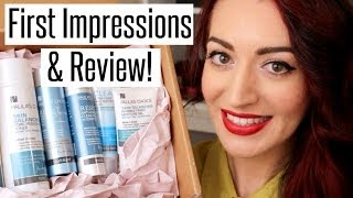 PAULA'S CHOICE 'REVIEW' + FIRST IMPRESSIONS! Skincare For Acne, Oily Skin & Acne Scarring