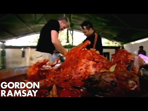 Gordon Ramsay Makes Traditional Goat Biryani in India (Part 1)