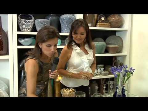 arranjos artificiais - No especial das Mães, acompanhe as dicas de arranjos florais da Vênica Casa, com depoimento de experts, para deixar a sua casa mais bonita.