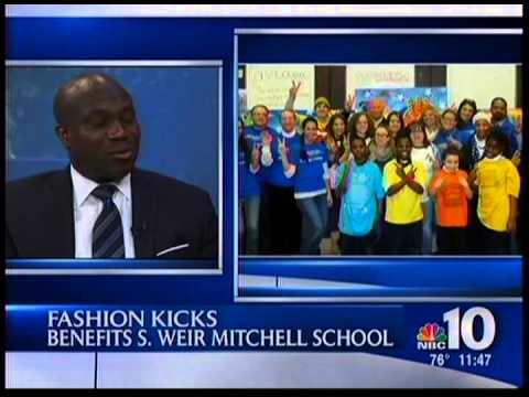 Zarwin Baum Talks 'Fashion Kicks' with NBC10