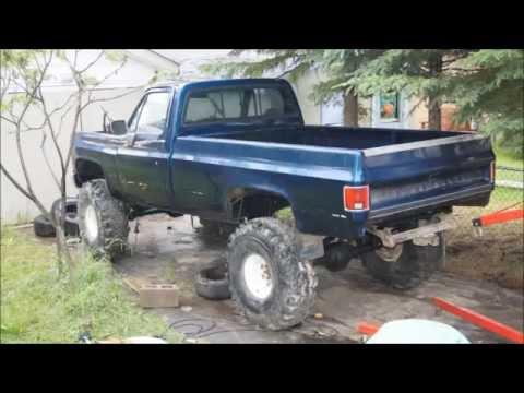 Chevy 4x4 truck build