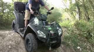 2. KYMCO MXU 500 GREEN LINE