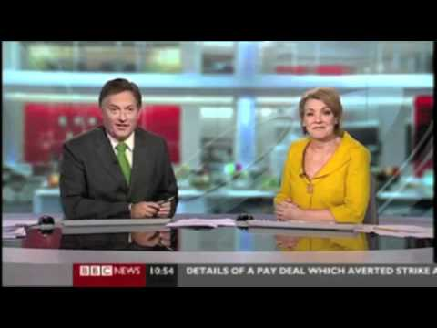 BBC Weatherman Caught Giving Middle Finger on Stage