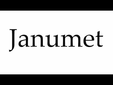 How to Pronounce Janumet