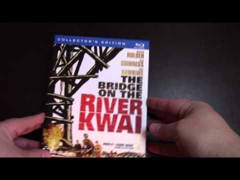 Bridge On The River Kwai Collectors Edition 2-Disk Bluray Movie Unboxing