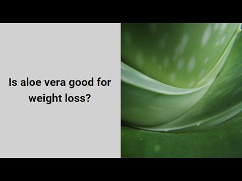 How to use Aloe Vera for Melting Fat