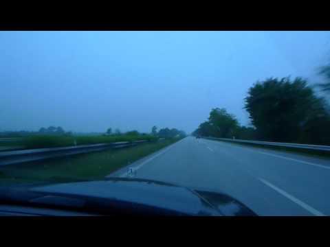 Niemka na autostradzie