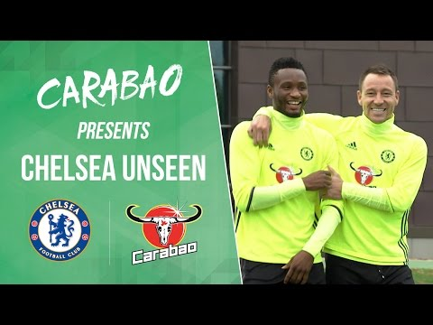 CHELSEA UNSEEN: Featuring JT, Mikel and Chalobah with Conte joining in with training