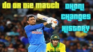 Video DO OR DIE Match for Dhoni and Dhoni DID THIS which Changed His Life and Indian Cricket Forever!! MP3, 3GP, MP4, WEBM, AVI, FLV Maret 2019