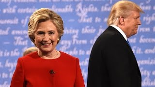 Video Presidential debate highlights: Clinton and Trump trade blows – video MP3, 3GP, MP4, WEBM, AVI, FLV Maret 2019