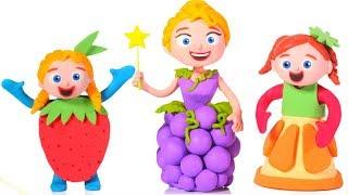The Girls Have Fruit Dresses 💕Cartoons For Kids