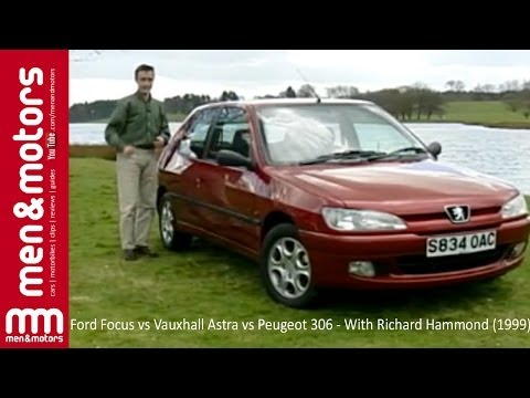 Ford Focus vs Vauxhall Astra vs Peugeot 306 - With Richard Hammond (1999)