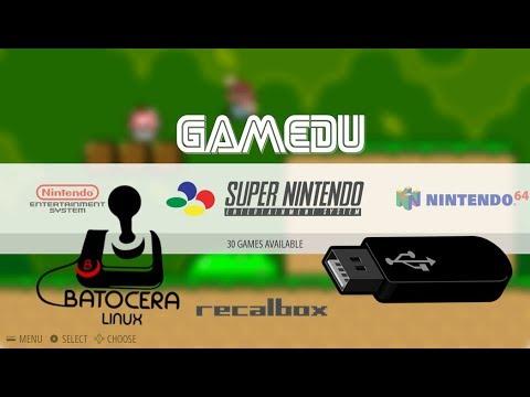 Recalbox PC multi- jogos no PenDrive