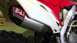 8. Honda CRF450R with Yoshimura RS-4 + Exhaust Sound