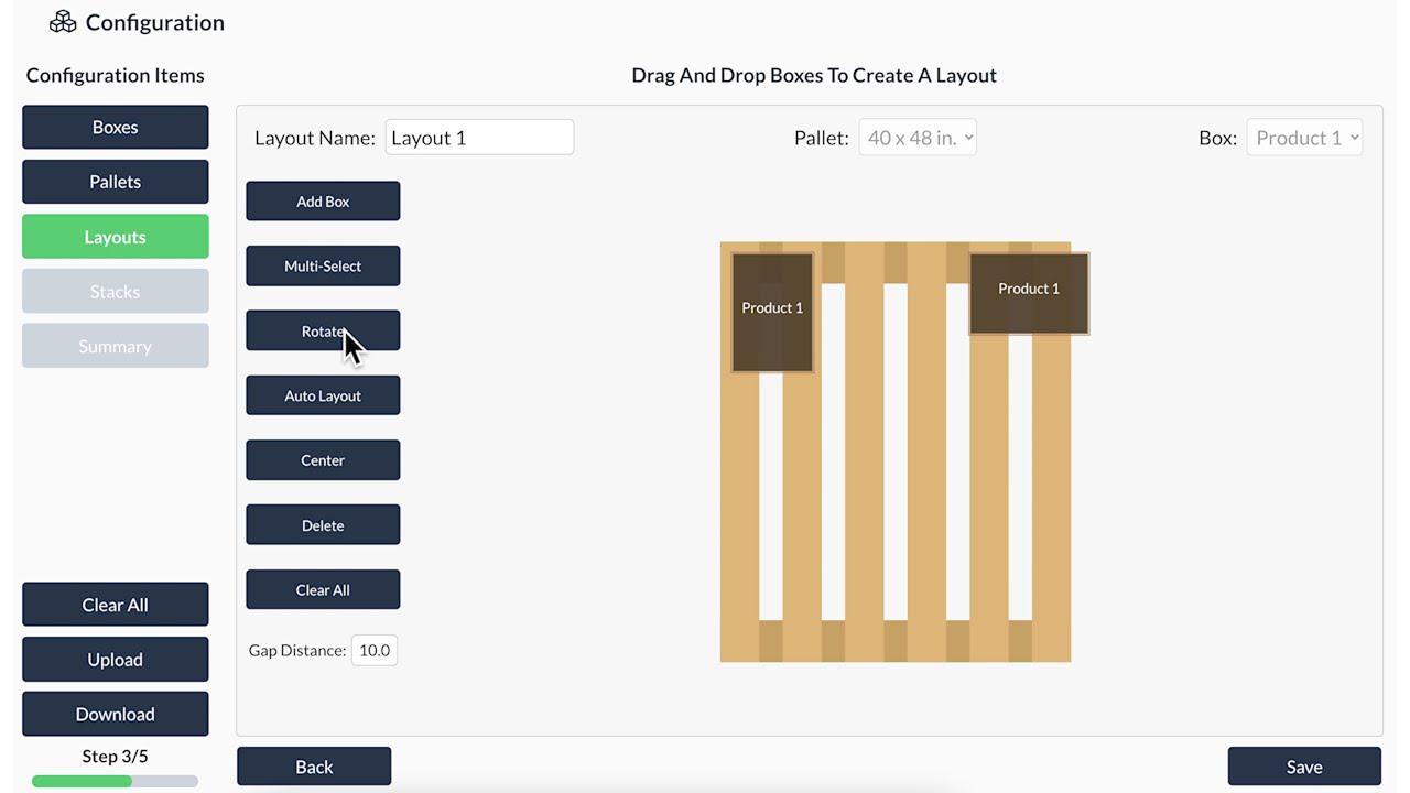 Pallet Configurator Tool Tutorial