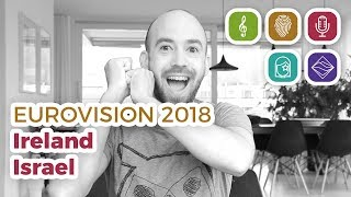 Video Ireland & Israel reaction (Eurovision 2018 – My Top 38 part 2) MP3, 3GP, MP4, WEBM, AVI, FLV Maret 2018