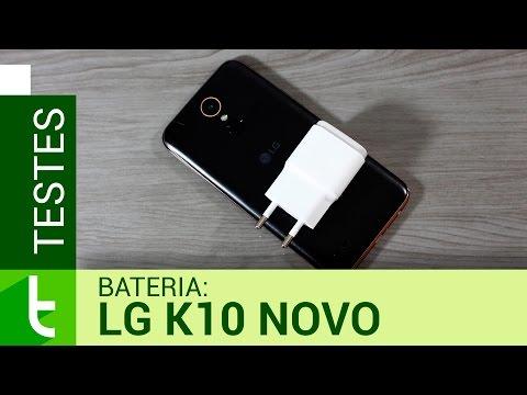Autonomia do LG K10 Novo (2017)  Teste oficial de bateria do TudoCelular