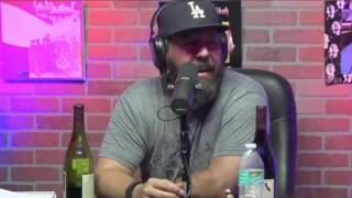Joey Diaz Tells Bert Kreischer How He Did Too Many Drugs Before Performing Stand Up