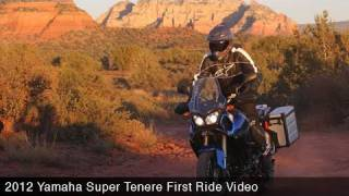 1. MotoUSA First Ride:  2012 Yamaha Super Tenere