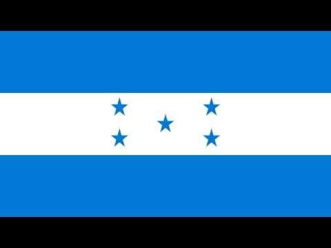 Bandera e Himno Nacional de Honduras - Flag and National Anthem of Honduras