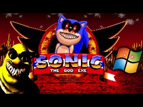 THESE 3 SHITTY .EXE GAMES GIVE ME THE CRINGE OF MY LIFE! [Sonic the God.exe, Shrek.exe, Windows.exe]