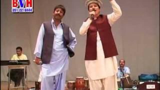 Baryalai Samadi New Song In Dubai Pashto Musical Show (Zan Pa Shan Yar Ba Guroo)
