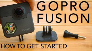 Video GoPro Fusion 360 Tutorial: How To Get Started MP3, 3GP, MP4, WEBM, AVI, FLV November 2018