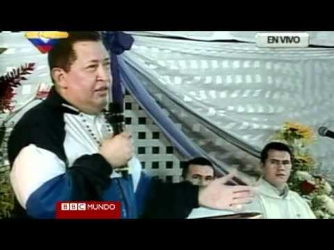 Chávez llora al rezar por su salud