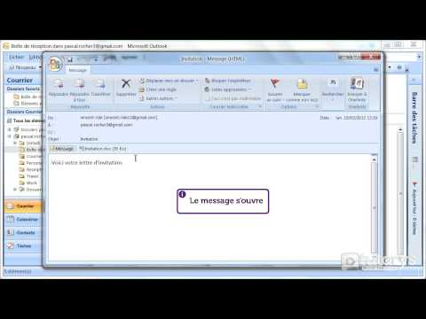 comment regler outlook avec hotmail