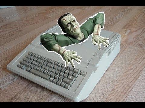 Rare Apple IIGS Upgrade Model Computer Review