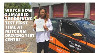 Dash cam footage of a actual driving test at Mitchamdriving test centre on 15th June 2017 2.05pm It can be used to see Mitcham ...