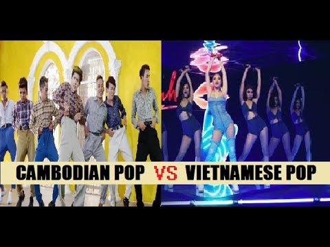 CAMBODIAN POP VS VPOP