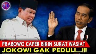 Video Prabowo Caper Bikin Surat W4si4t, Jokowi Gak Peduli! MP3, 3GP, MP4, WEBM, AVI, FLV Mei 2019