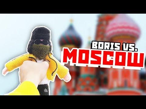 Matryoshkas and Caviar - Moscow review (200th video) (видео)