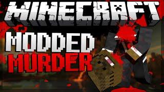 """Minecraft """"TRUST NO ONE"""" Murder in Minecraft w/ JeromeASF&Friends"""