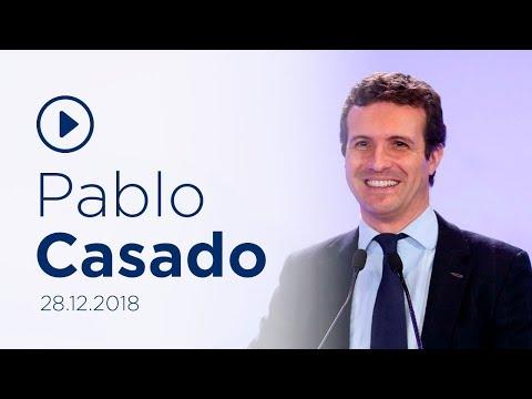 """Casado: """"El balance del Gobierno de Sánchez cabría..."""