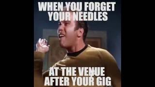 Dj Meme: When You Leave Your Needles At The Venue After Your Gig