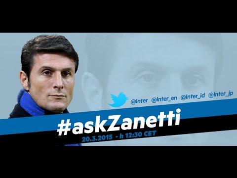 Live! InterNos ospita Zanetti #AskZanetti 20.3.2015 h12:30CET